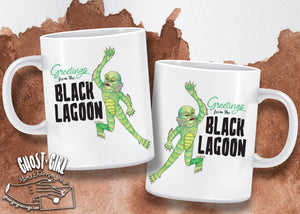 Pre-Sale Mug: Greetings from the Black Lagoon