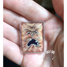 Load image into Gallery viewer, Acrylic Pin: Necronomicon