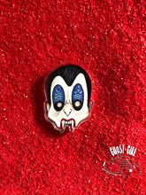 Load image into Gallery viewer, Acrylic Pin: Dracula Mask