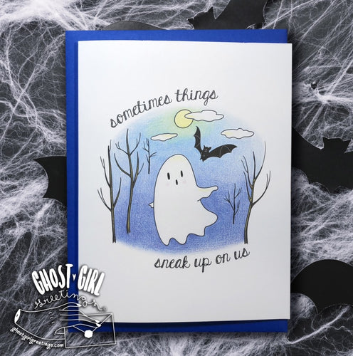Ghosts For All Occasions: Sorry Things Suck Greeting Card