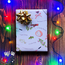 Load image into Gallery viewer, Gift Wrap Set- Horror Days of Christmas