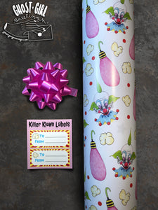 Gift Wrap Set- Killer Klowns