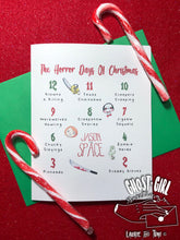 Load image into Gallery viewer, 12 Horror Days of Christmas