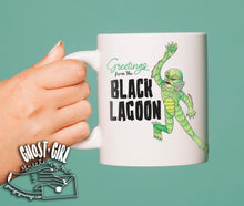Load image into Gallery viewer, Pre-Sale Mug: Greetings from the Black Lagoon