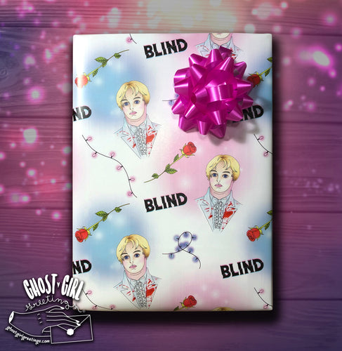 Ghost Girls Exclusive! Officially Licensed Gift Wrap Set- BLIND
