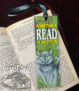Handmade Horror bookmarks for your favorite spooky reads!