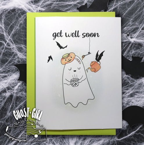 Ghosts For All Occasions: Get Well Soon