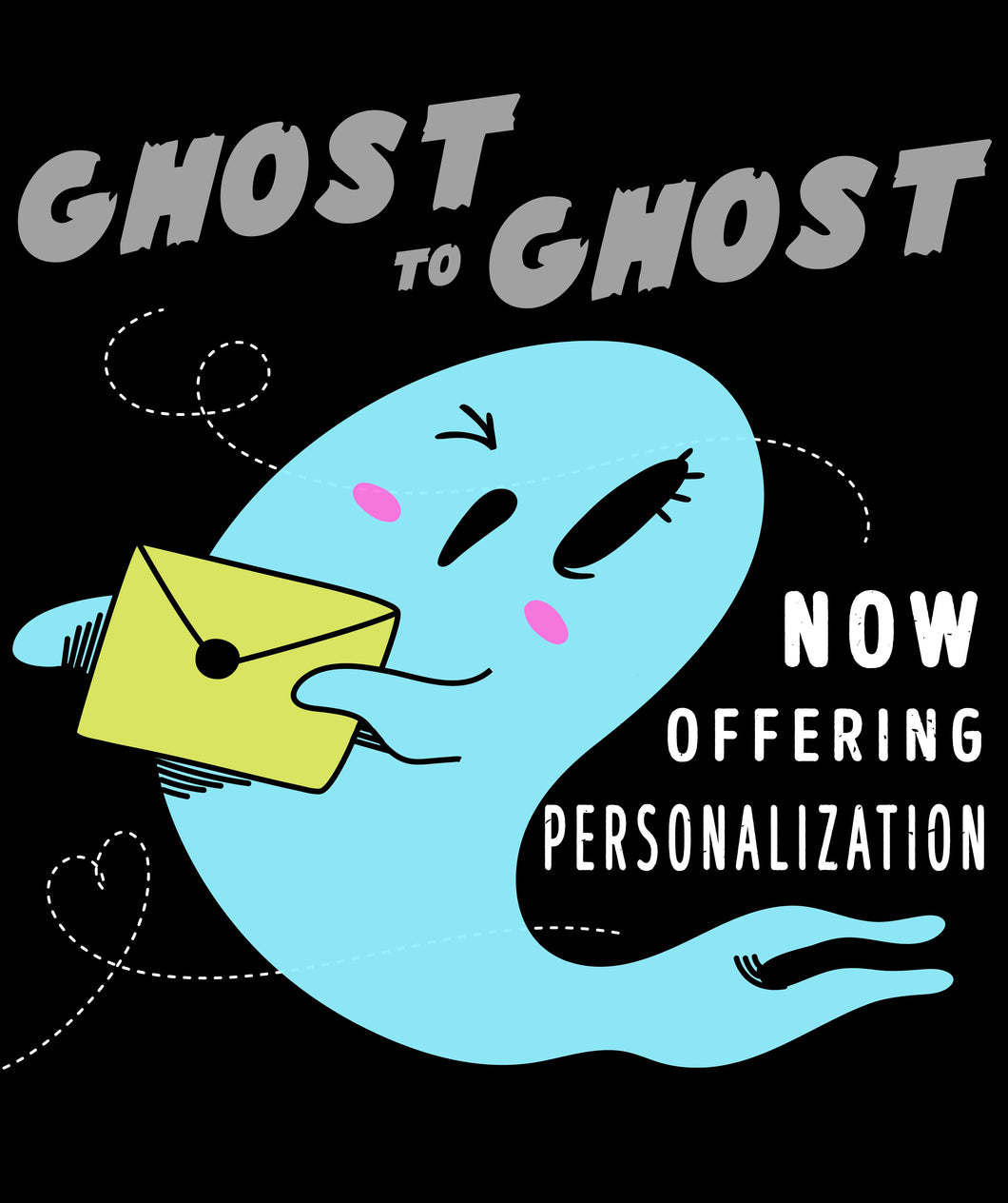 ***NEW Direct Post Ghost to Ghost**** Card Personalization