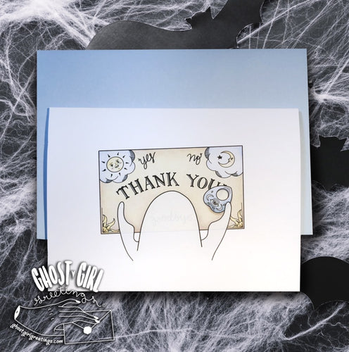 Ghosts For All Occasions: Thank You Greeting Card