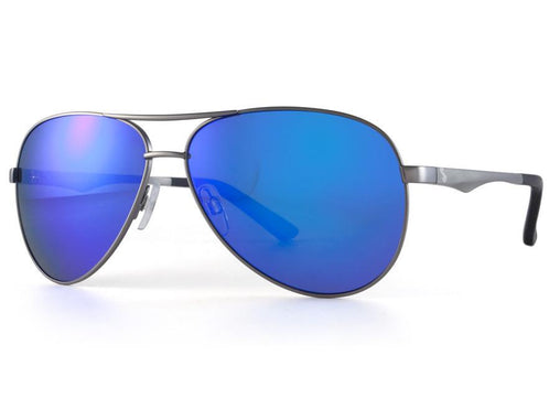 Smoke (Blue Mirror) Polarized – Gunmetal