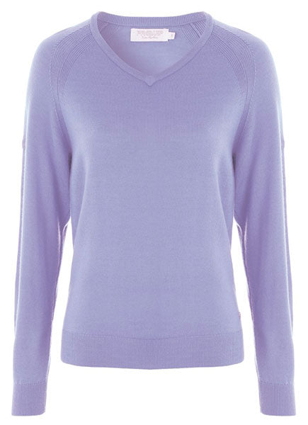 Amy V-Neck Merino Sweater