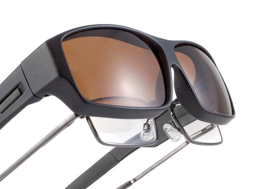SHADOW - Fit Over RX (Larger) - Sundog Sunglasses for Golf, Running and Your Lifestyle
