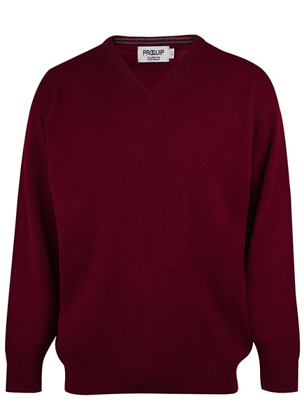 Merino V Neck Wool Knitwear