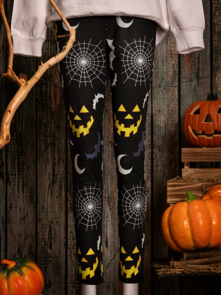 Animal Printed Halloween Pants