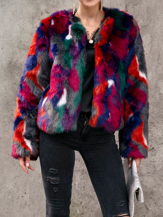 Dyed Holiday Long Sleeves Outerwear