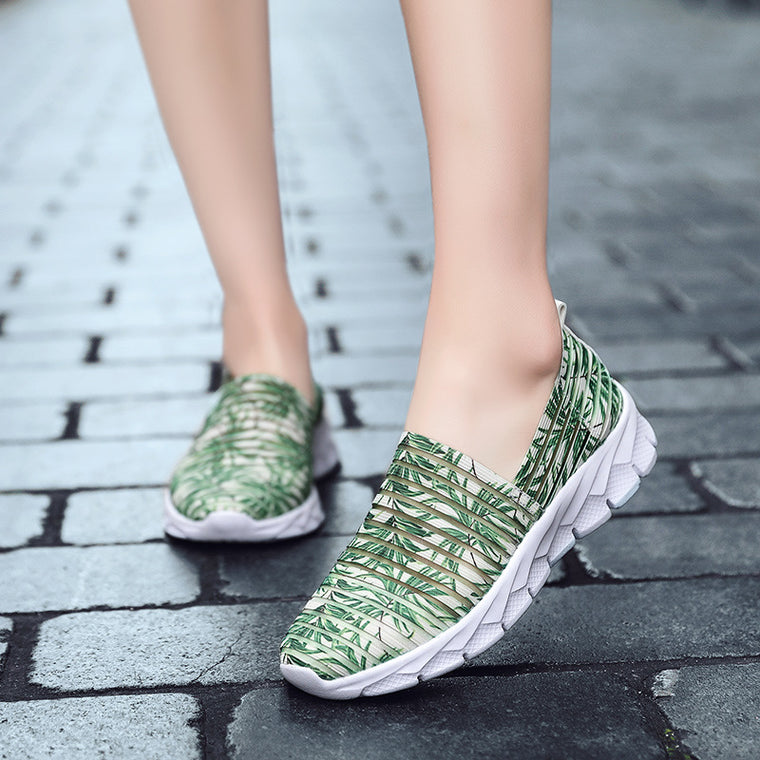 Lightweight Casual Breathable Stretch Sneakers
