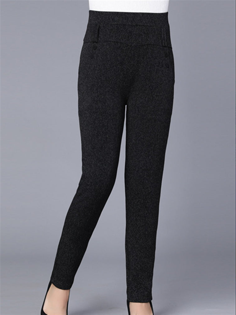 Autumn Winter Plus Size Basic Daily Pants