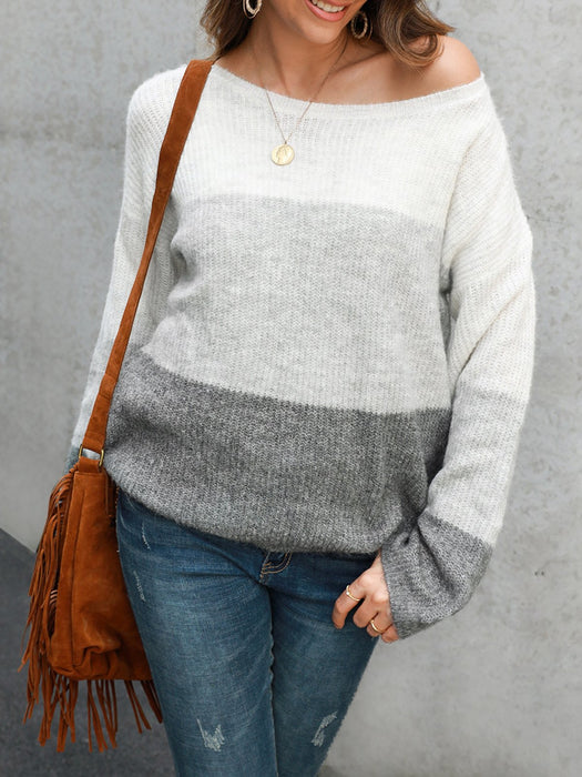 Long Sleeve Shift Sweater