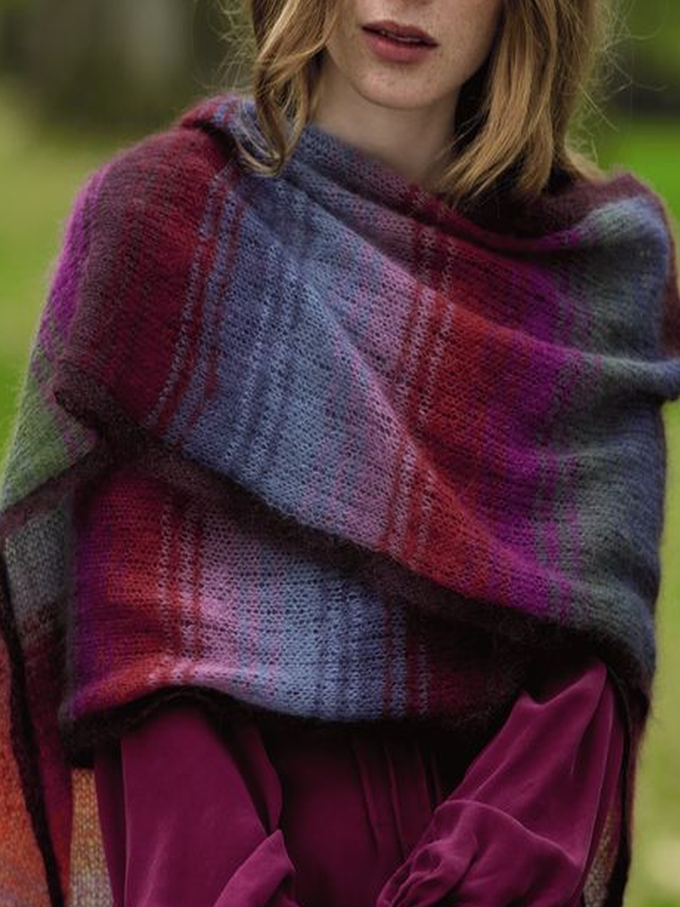 Casual Knitted Scarves & Shawls