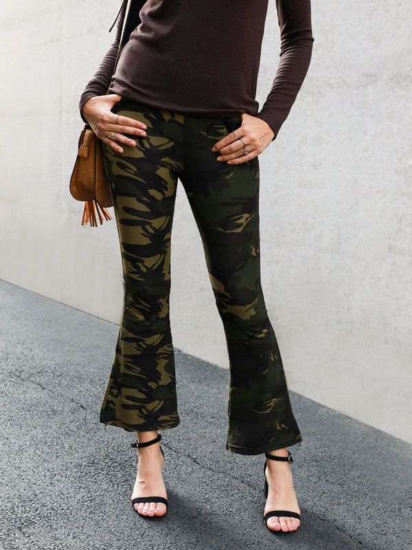 Camouflage Shift Sports Pants