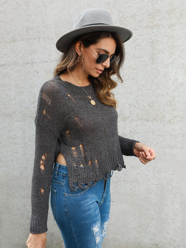 Shift Long Sleeve Crew Neck Sweater