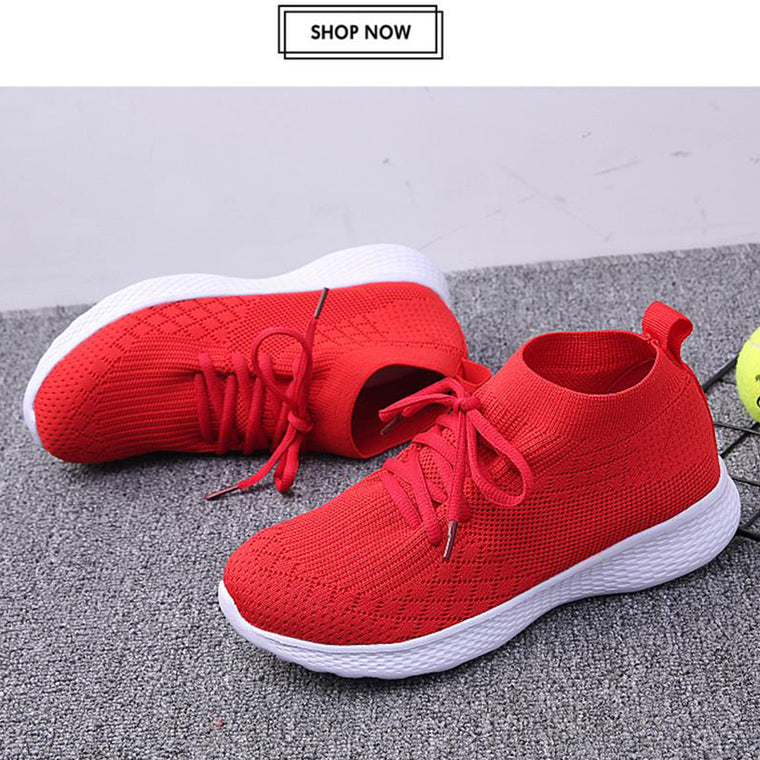 Women Breathable Mesh Sneakers