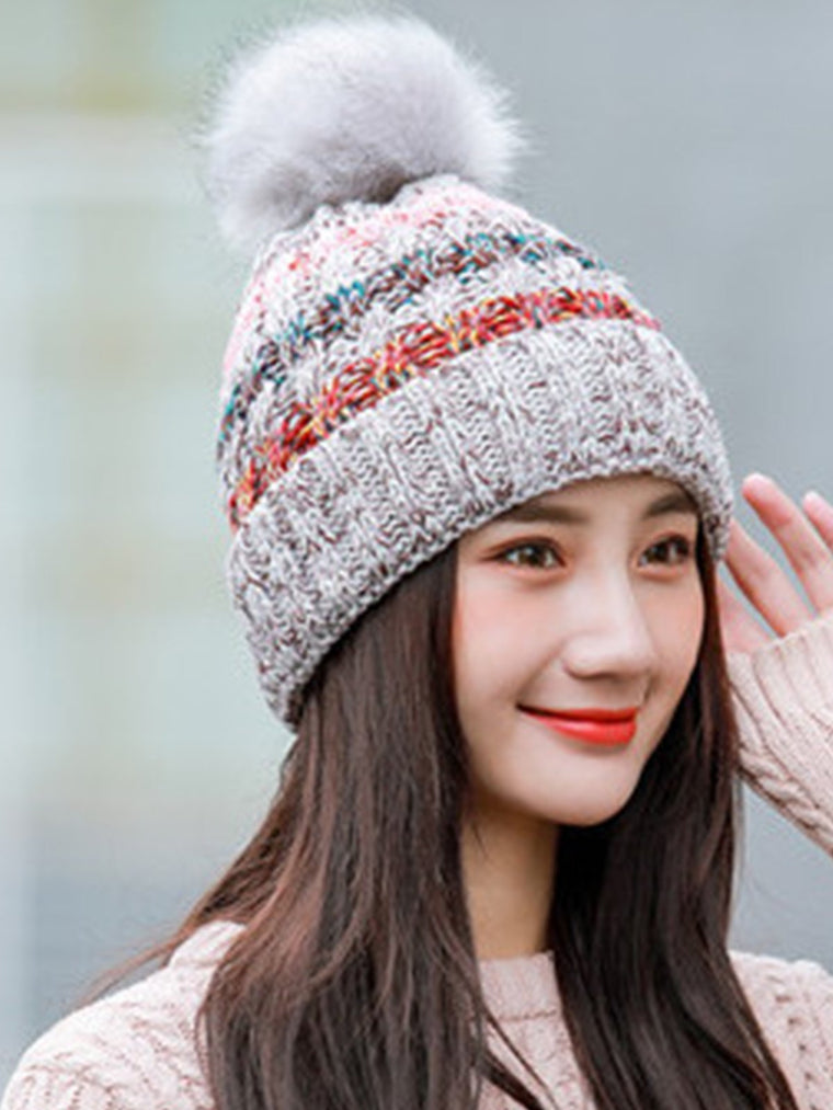 Color Block Hats For Winter