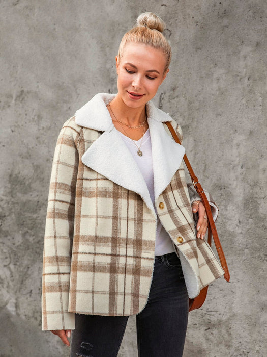 Holiday Lapel Wool Blend Outerwear