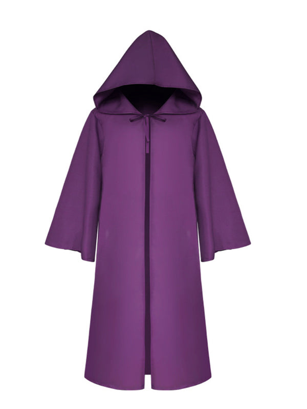 Hoodie Solid Casual Plus Size Halloween Coats