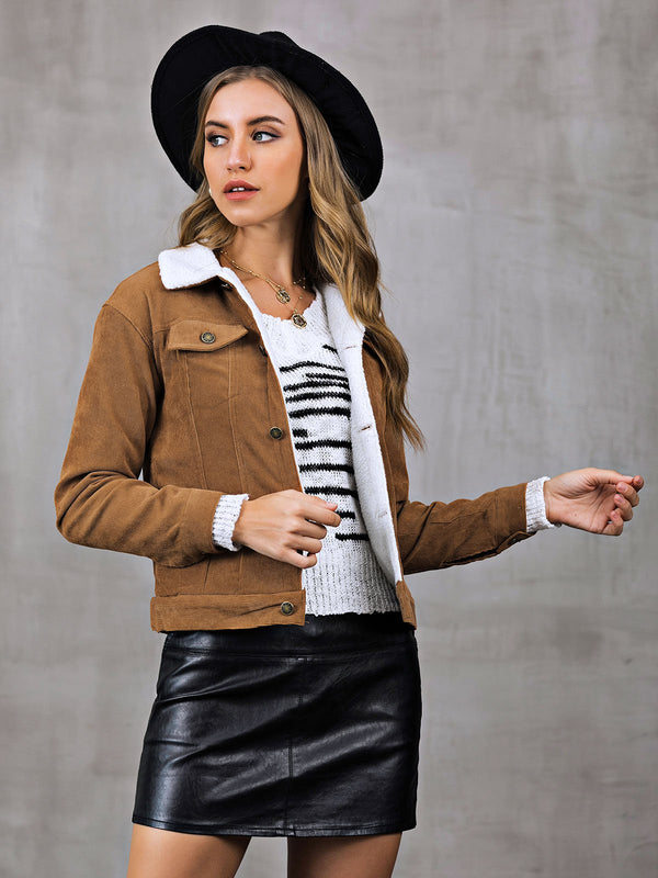 Casual Long Sleeve Outerwear