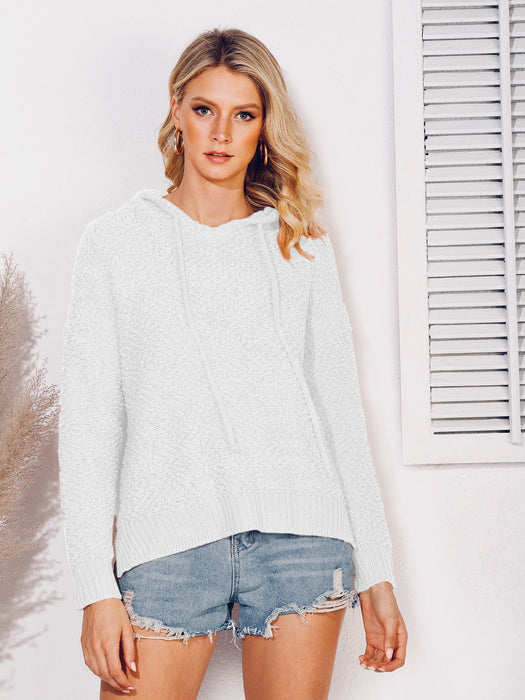 Long Sleeve Shift Casual Hoodie Shirts & Tops