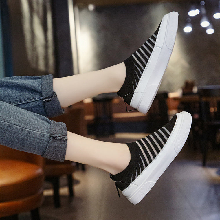 Athletic Style Casual Slip-on Non-slip Sneakers