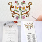 Price / Hay wedding logo - SOLD