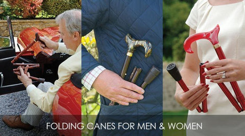 folding canes for men and women