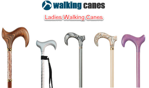 Ladies walking canes