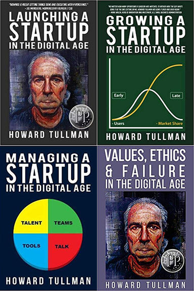 4-PACK - Startups in the Digital Age Book Series