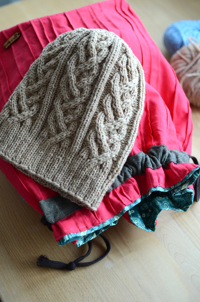 6c73d817 Christmas Gift knitting in July with free knit patterns: Hat series ...