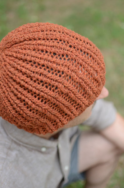 easy hat knitting pattern circular