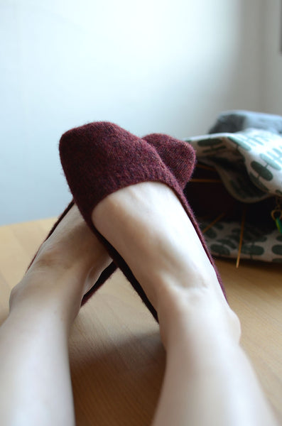 knit easy and cute socks and find some tips to improve the fit.