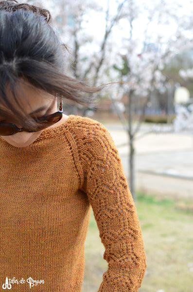 Simple and easy pullover pattern from Drops Design