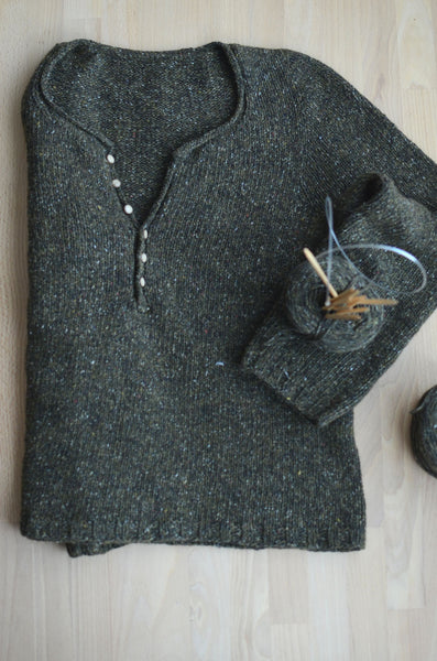 free knitting patterns of pullover for knit beginners