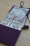 awesome knitting needle case for interchangeable needle sets