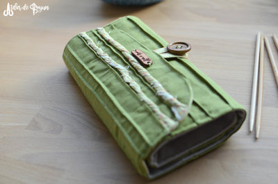 One of a Kind DPN organizer with a notion zipper pocket
