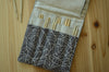 knitting needle organizer for interchangeable needle sets/ print on linen