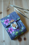 Knitting needle case for Interchangeable knitting needle set