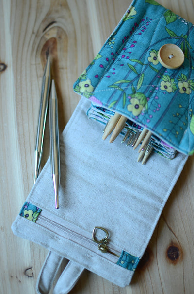Interchangeable knitting needle storage for Addi, KnitPro, and more