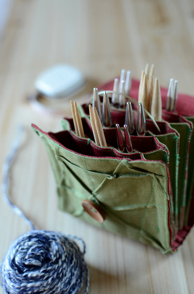 The best way of organizing your interchangeable knitting needles