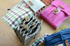 knitting needle case for interchangeable sets: needle holder can be this fun!