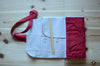 DPN knitting needle case in Cherry Red