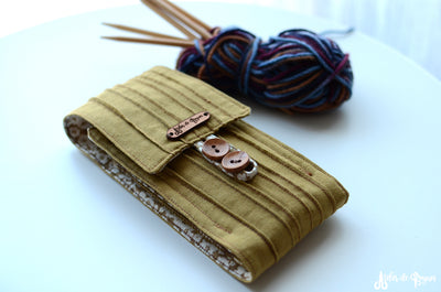 double pointed needle case